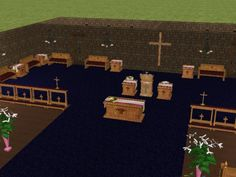 Church Set for The Sims 2 (TS2)