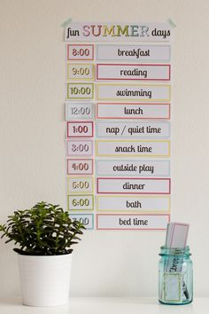 Free Printable: Setting up a Simple Routine with Kids - Modern Parents Messy Kids