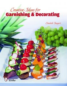 Kick your plating techniques up a notch with this exhaustive guide to garnishing and decorating. Ideal guide for those who regularly entertain guests. More than 330 images capture step-by-step procedures for quick and easy plate garnishes, including elaborate displays of canapés. A wide spectrum of ingredients and products, including fruits and vegetables, dairy, meat, chocolate, and marzipan demonstrate how creative you can be.