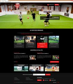 Lancement du Site Soccer Rennais | Acreat Web Technologies Sports, Rocket Launch, Rennes, Hs Sports, Sport