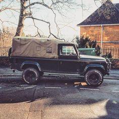 #landrover #defender110 #pickup