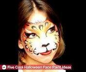 Child halloween makeup