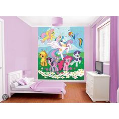 Posterbehang my little pony | Woonaccessoires Webshop: Presents @ Home