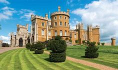 The Regency Gothic Revival-style 19th-century castle.