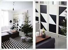 Do It Yourself Projects in Black & White | Apartment Therapy