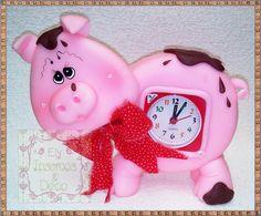 reloj chanchito country