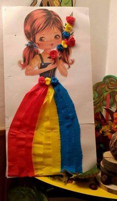 Best 12 Прикрашаємо школу та садочок до Свята осені: 28 фото-ідей | Ідеї декору – SkillOfKing.Com Vinyl Crafts, Diy And Crafts, Crafts For Kids, Paper Crafts, Arts And Crafts, Projects For Kids, Art Projects, Romanian Flag, Sensory Activities Toddlers
