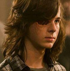 Carl The Walking Dead, Walking Dead Tv Series, Carl Grimes, Carl's Eye, Riggs Chandler, The Walkind Dead, What's My Aesthetic, Eye Roll, Cute Actors