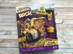Toy Review: KineticRock 3-in-1 Loader Set