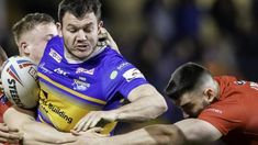 London Broncos score two late tries to stun Leeds and consign the Rhinos to a fourth straight defeat in Super League. Chris Kendall, Broncos Win, Leeds Rhinos, Rugby League, Referee, Bbc, London, Fall