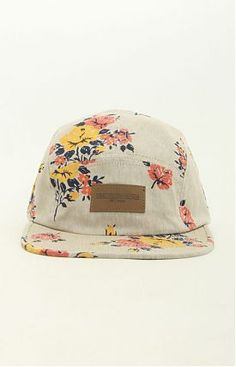 Meadowlark 5 Panel Hat by Obey at MOOSE Limited