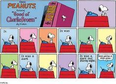 Snoopy always speaks the truth...