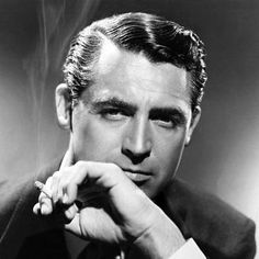 1940s Mens Hairstyles, 1920s Mens Hair, Celebrity Hairstyles, Haircuts For Men, Trendy Hairstyles, Twiggy Hair, 60s Hair, Louise Brooks, Cary Grant