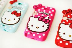 HELLO KITTY HEART SILICONE MOBILE CASE FOR GALAXY S6