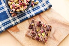 Bake up a batch of these homemade granola bars to enjoy a sweet treat over the holidays.