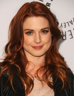 Alexandra Breckenridge~ long wavy curls