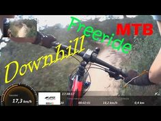Downhill MTB Freeride With Specialized & GPS Info - YouTube