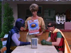 Batman & Robin meet the Batburger! (1966).
