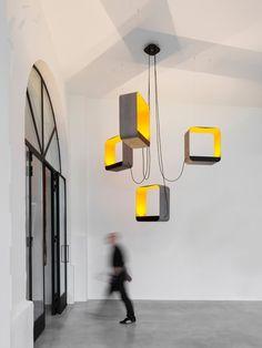 Eau de lumière chandelier from Designheure