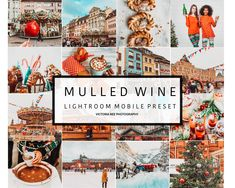 HOHOHO 🎅 New! Mobile Lightroom Christmas Preset MULLED WINE This preset is perfect for outdoors photography in natural light, with this preset you can add Presets Lightroom, Shooting In Raw, Affinity Designer, Mulled Wine, Christmas Colors, Christmas Mood, Christmas Stocking, Poses, How To Better Yourself