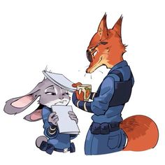 nick and judy | Tumblr