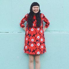 Marimekko Dress, Fashion News, Lifestyle, My Style, How To Wear, Inspiration, Clothes, Vintage, Ideas
