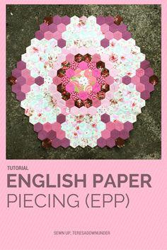 English paper piecing (EPP) tutorial