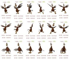 Rooster - graphics - lots and lots of them. Buy them single, in a bunch or as a #craftartist digikit