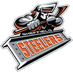 The most decorated club in British Ice Hockey history - 24 trophy's and… Steelers Images, Steelers Pics, Pittsburgh Steelers, Ice Hockey Teams, Hockey Logos, Sports Logos, Coventry Blaze, Best Team Names, Sheffield Steelers