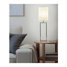 IKEA - TORSBO, Lampa stołowa, Osłona z tkaniny rozprowadzająca rozproszone i dekoracyjne światło pozwoli stworzyć w domu delikatną, przytulną atmosferę.