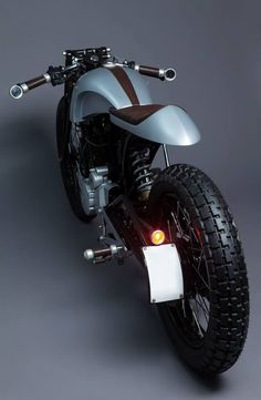 Honda Hero Karizma Cafe Racer - The beauty of simple lines! www.vintagemotopa...