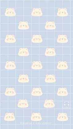 Cute Pastel Wallpaper, Soft Wallpaper, Cute Patterns Wallpaper, Bear Wallpaper, Cute Anime Wallpaper, Wallpaper Iphone Cute, Aesthetic Iphone Wallpaper, Aesthetic Wallpapers, My Melody Wallpaper