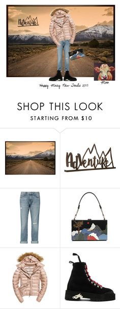 """""""On the Trail"""" by sunnyjuke ❤ liked on Polyvore featuring Pottery Barn, Current/Elliott, Fuji, Off-White and Home Decorators Collection"""