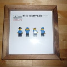 The Beatles - lego form.