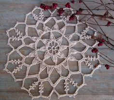 Note - Last Spring we came across a magnificent collection of absolutely beautiful hand crocheted vintage doilies in pristine condition. Description from etsy.com. I searched for this on bing.com/images