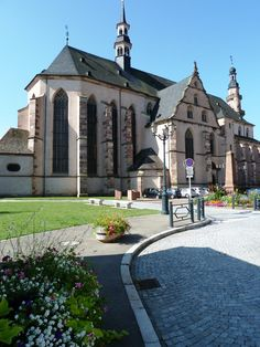 Église Paroissiale de Molsheim, Alsace