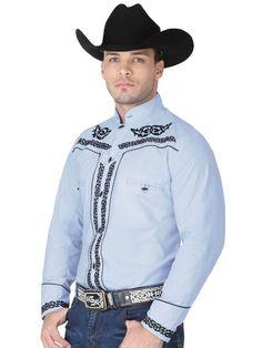 Cafe Uniform, Charro, Western Shirts, Athletic, Jackets, Color Azul, Products, Fashion, Templates