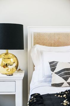 modern traditional bed styling   via coco+kelley