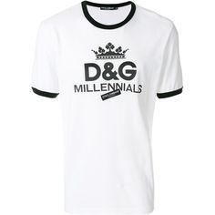 a3585f22b2 Dolce & Gabbana Millennials print T-shirt (355 CAD) ❤ liked on