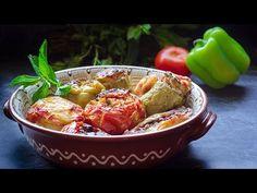 Γεμιστά για αρχάριους με όλα τα μυστικά και πεντανόστιμα! - YouTube Cypriot Food, Greek Dishes, Happy Foods, Greek Recipes, Tasty Dishes, Chili, Food And Drink, Soup, Cooking Recipes
