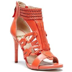 new orange sandals for party Fab Shoes, Pretty Shoes, Beautiful Shoes, Cute Shoes, Women's Shoes, Guess By Marciano, Guess Shoes, Me Too Shoes, Holiday Shoes