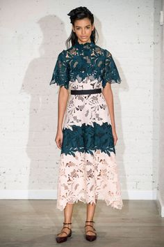 #LelaRose #2017 #Fashion #Show #Fall2017 #RTW #nyfw #NewYork #Fashionweek via @TheCut