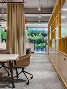 D&P Associates created the design concept for the SPACES Champion Center coworking offices located in Shanghai, China. Located in the heart of Champions Centre, Studio Interior, Interior Design, Office Color Schemes, Workplace Design, Design Strategy, Architecture Office, Coworking Space, Shanghai