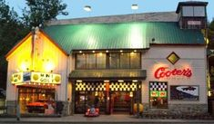 If you are in the Great Smoky Mountains of Tennessee, don't miss a visit to Cooter's Garage in Gatlinburg!