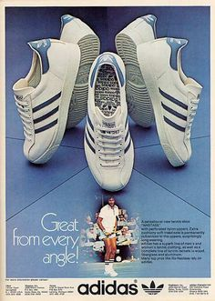 adidas advert - Nastase. If only Adidas could make these as popular as Stans.