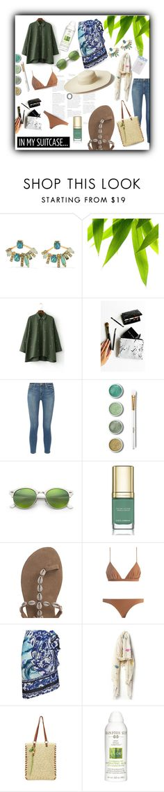 """""""Cuba here I come!"""" by queenofsienna ❤ liked on Polyvore featuring Elizabeth Cole, Rianna Phillips, Frame, Terre Mère, Ray-Ban, Dolce&Gabbana, Artesano, Zimmermann, Gottex and Aish"""