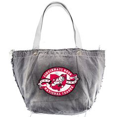 The stylish Cincinnati Reds Retro Vintage Tote Bag by Little Earth - MLB.com Shop. $24.99.