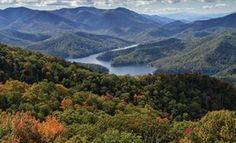 Lake Fontana, North Carolina  In the Smoky Mountains