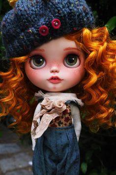 Resultado de imagen para muñecas blythe pelirroja
