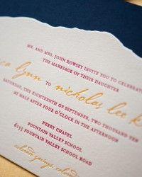 Rebecca + Nick's Rocky Mountain Colorado Wedding Invitations